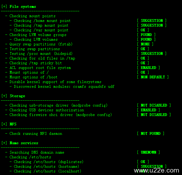 lynis扫描Linux的安全漏洞安装及使用