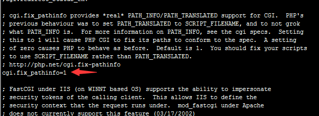 LNMP 配置NGINX 支持THINKPHP PATHINFO模式