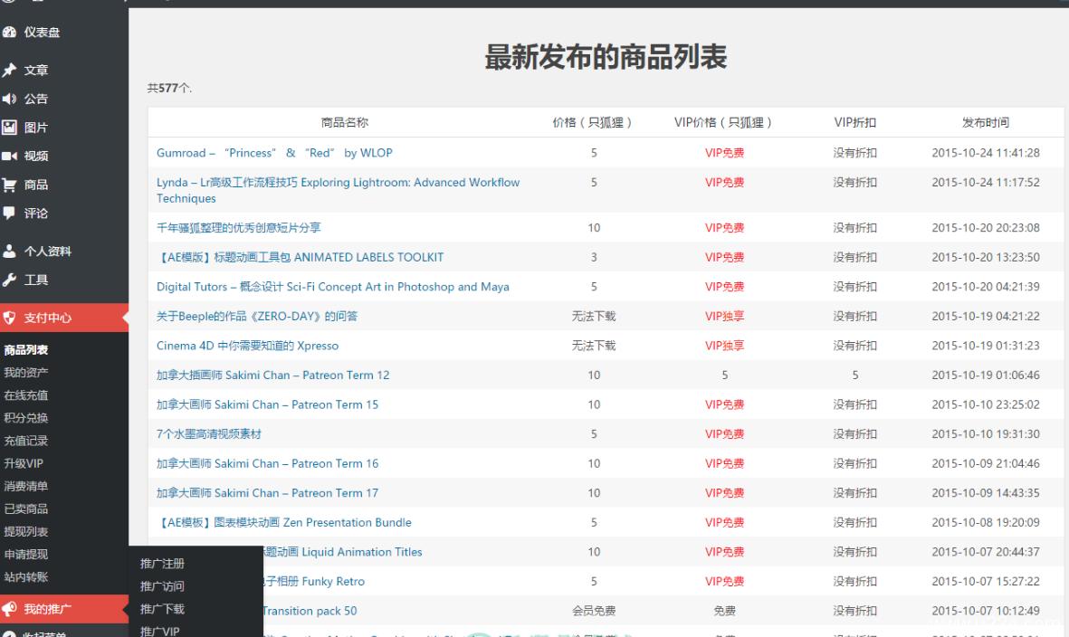 最新VipSystem V12.0.1 for wordpress插件 wp最新VIP会员付费下载