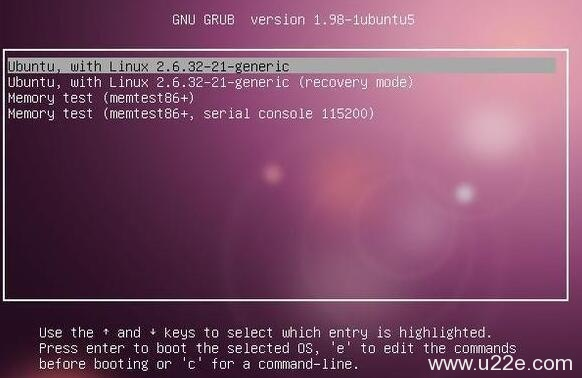 ubuntu进入recovery mode模式
