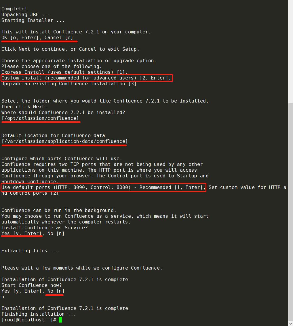 centos7下confluence7.2和wiki详细安装教程