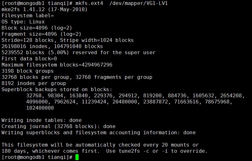 mdadm创建软raid 0并创建lvm